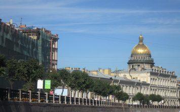 Sankt Peterburg in katedrala Svetega Isaca