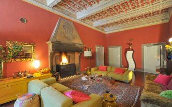 Vaša glavna dnevna soba v vili v Toskani
