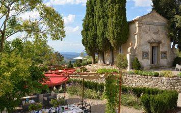 Privatna kapela ob vili v Toskani