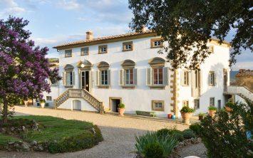 Vila v Toskani vas pričakuje