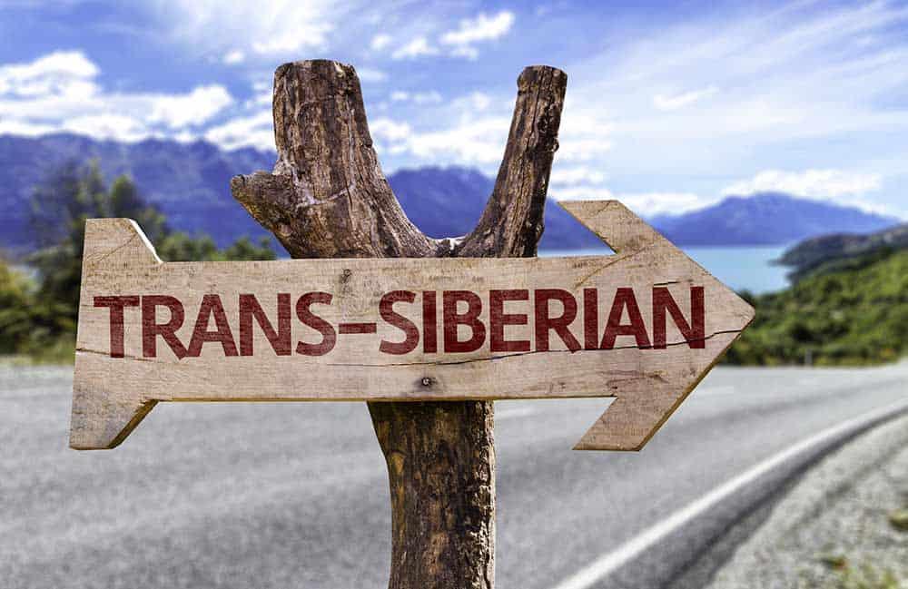 BAJKAL leseni znak Trans Sibirija