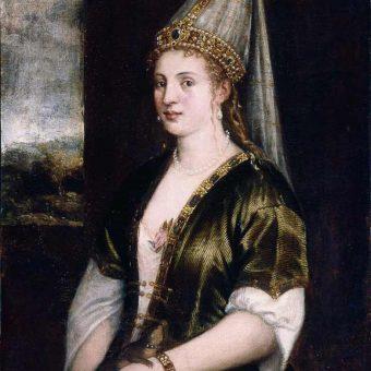 Rokselana kot jo je naslikal Titian