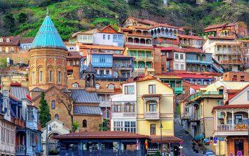 Gruzija in Tbilisi