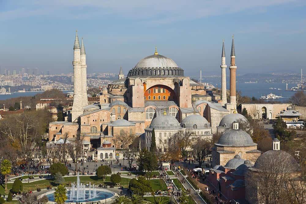 ISTANBUL-Beautiful-Hagia-Sophia-Museum-Aerial-View
