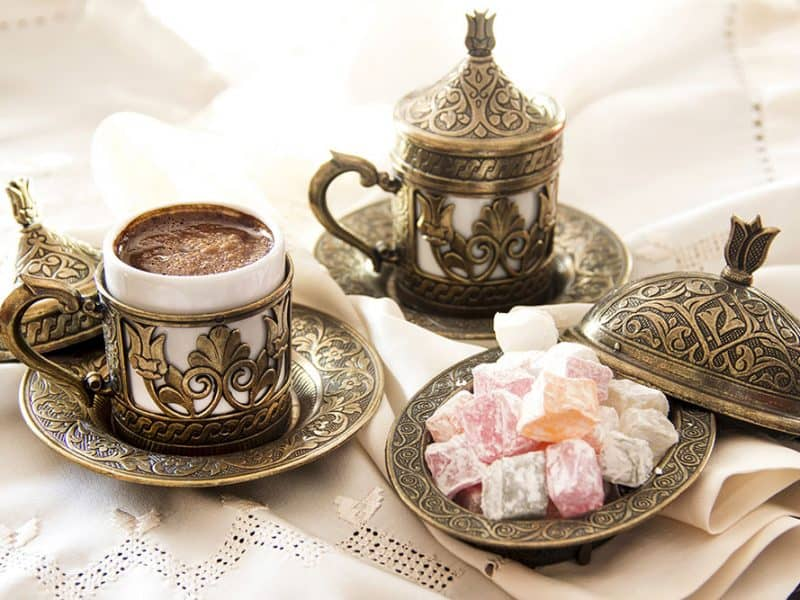Turška kava v Istanbulu