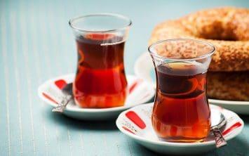 Turški čaj v Istanbulu