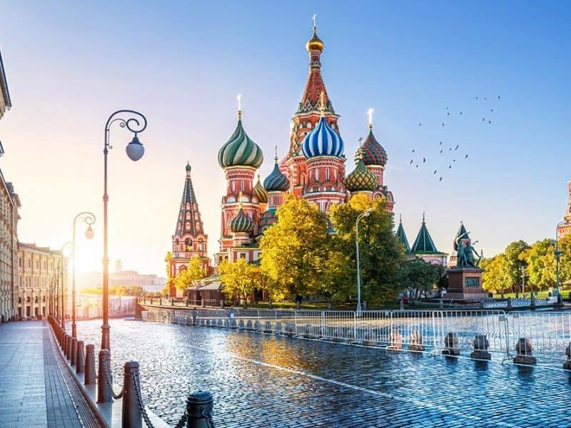 Moskva in križarjenje po Volgi