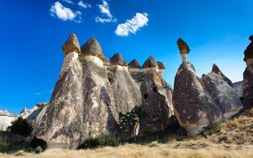 Mesečeva pokrajina Kapadokija