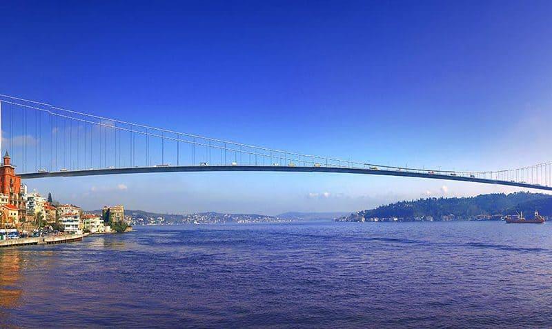 Istanbul in pogled na Bospor
