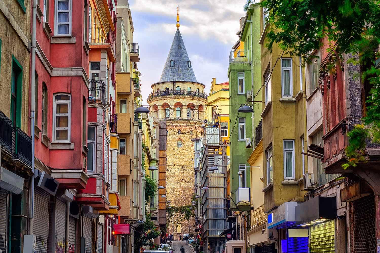 ISTANBUL-Galata stolp