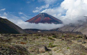Vulkan Avačinski v Kamčatki