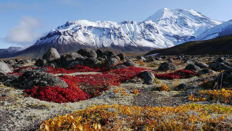 KAMČATKA-gorate doline v Rusiji