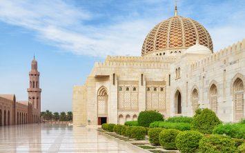 Mošeja sultana Kabusa v Omanu