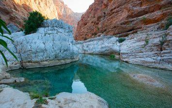 Vadi Šab v Omanu