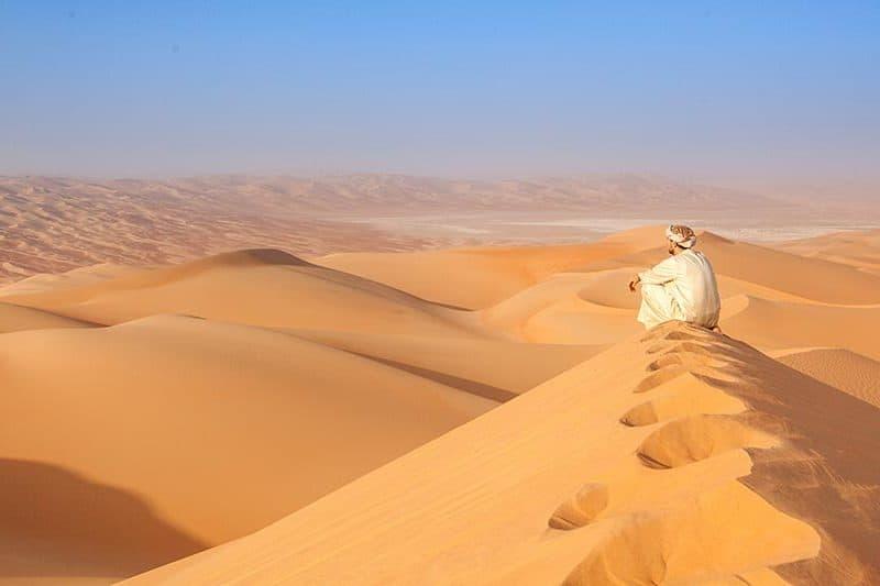 Puščava v Omanu