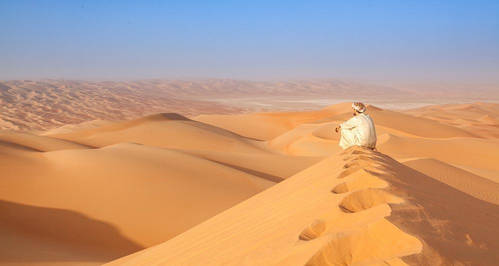 OMAN pogled na puščavo