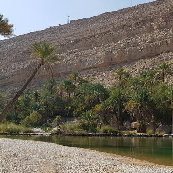 Prava oaza miru Wadi Bani Khalid v Omanu